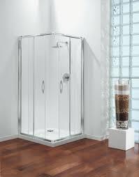 bathroom luxurious style dark gray wall glass shower door seal white floor lamp idea brown