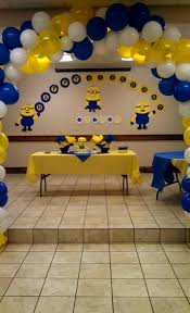 Minion decorations