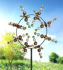 costco metal wind spinner kinetic garden sculpture designs