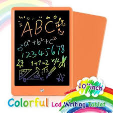 Orsen <b>LCD Writing Tablet 10 Inch</b>, Colorful Doodle Board Drawing ...