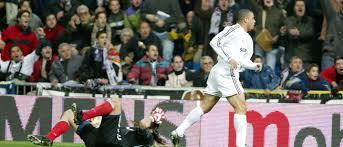 Ronaldo jugando para el Real Madrid