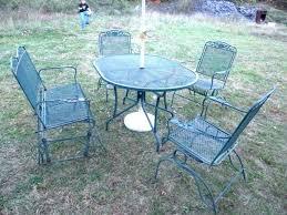 wrought iron vintage patio furniture. Salterini Patio Furniture Inspirational Vintage Wrought Iron .