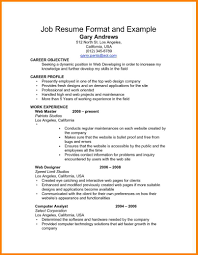 6 Basic Job Resume Examples Cashier Resumes