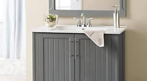 bathroom vanity with sink