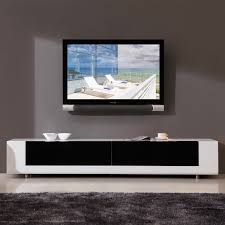 bmodern bmwht editor  contemporary tv stand in high gloss