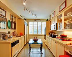 track lighting in the kitchen. Exellent Track Image Of Galley Layout Track Lighting Kitchen Ideas Throughout In The A