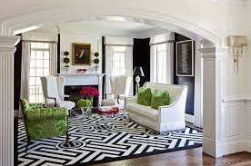 Transitional Living Room Design Cool Black And White Carpet Living Room Wonderful Interior Design For