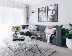 living rooms with gray walls. Download by size:Handphone Tablet ...