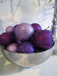 Purple Balls For Decoration
