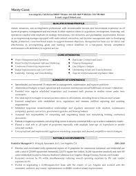 Property Management Resume Free For Download Sample Property Manager