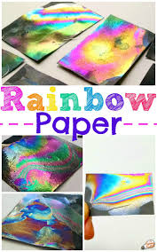 Rainbow Colored Paperl L