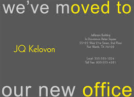We Moved Announcement Cards Lisut