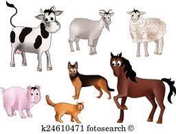 domestic animals clipart. Contemporary Domestic Domestic Animals Intended Animals Clipart