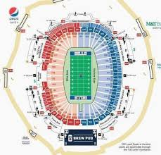 Surprising Arrowhead Seating Map Chiefs Stadium Seating