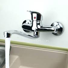 wall sink faucet wall mounted kitchen sink faucets wall mount kitchen faucet with hand spray wall