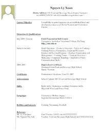 Sample Resume For Waitress Resume Example No Experience Sample