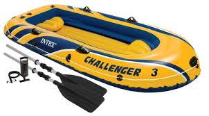Надувная <b>лодка Intex Challenger-3</b> (68370) — купить по выгодной ...