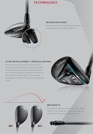 Titleist 816 H1 Golf Hybrid Diamana M Red 50 Hy Malaysia