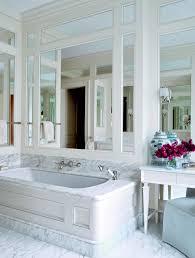 mirrored walls marble bathroom bathtub ideas luxury spa like better decorating bible blog blog spa bathroom