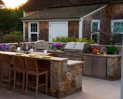 ... Outside Kitchen Designs Natural Stone Outdoor Kitchen Design ...