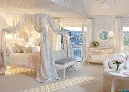 jasmine bed full blue damask