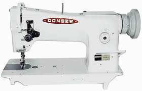 is capable of sewing up to 3 8 of soft to medium temper leather with up to 207 bonded nylon or polyester thread