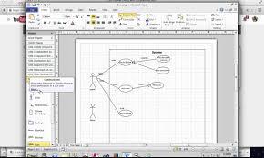 creating use case diagram in microsoft visio   youtubecreating use case diagram in microsoft visio