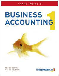 Amazon Com Frank Wood S Business Accounting 1 8601300177472 Wood Frank Sangster Alan Ph D Books