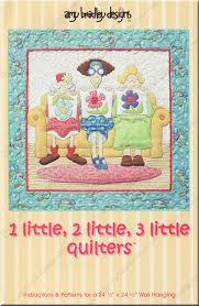 1 Little, 2 Little, 3 Little Quilters sewing pattern by Amy ... & 1 Little, 2 Little, 3 Little Quilters sewing pattern by Amy Bradley Designs Adamdwight.com