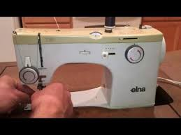 Elna Sewing Machine Tutorial