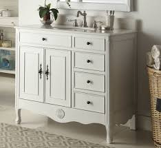 chans furniture hf 837aw 38 inch benton collection distressed white daleville bathroom sink vanity