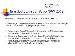 Აპლიკაციით bauo nrw თქვენ ყოველთვის გაქვთ შენობის კოდი (bauo nrw) და სპეციალური სამშენებლო რეგლამენტები (sbauvo nrw) nrw ყოველთვის თქვენთან ერთად და ყოველთვის გაქვთ ხანძარსაწინააღმდეგო მოთხოვნები! Brandschutz In Der Bauo Nrw Ppt Herunterladen