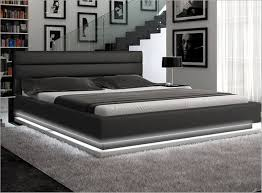 California King Bed Frames And Wall Unit Glamorous Bedroom Design ...