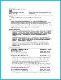 99 Aviation Resume Sample Professional Pilot Resume Template