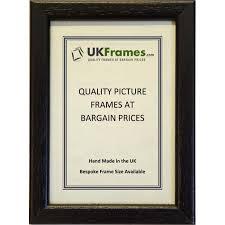 12mm black wood frames