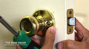 How to Fix a Stuck Door Latch | The Elite Group Property ...