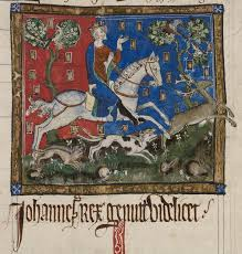 magna carta and the king s forests medieval manuscripts blog cotton claudius d ii f116