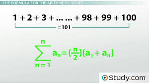how to calculate an arithmetic series lesson transcript study com