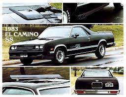 1983 El Camino | 1983 Chevrolet El Camino SS | El Camino & GMC ...
