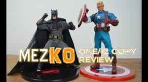 Фото с обложки bootleg one 12 mezko mezco batman and capn america