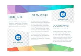 Free Tri Fold Brochure Templates Word Impressive Corporate Tri Fold Brochure Template Free Vector Microsoft Word