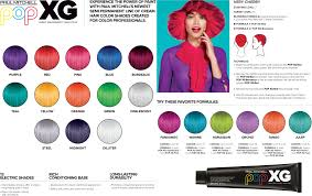 Paul Mitchell Color Chart 2018 Paul Mitchell Pop Xg Color Chart Paul Mitchell Color