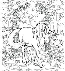princess and unicorn coloring pages printable beautiful page stock vector