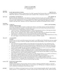 B School Resume Template