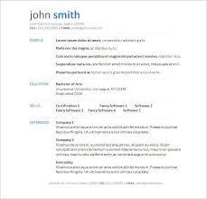Free Resume Templates Download For Microsoft Word Gentileforda Com