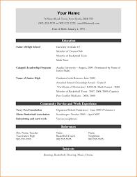 Resume Template Doc Adorable Cv Resume Template Doc Fresh Ideas Cv
