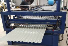 hria engineering corrugated metal curved roofing sheet making machine