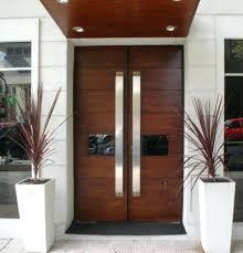 front door House Front Door Design Double Modern Wood Doors And