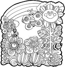spring color sheets. Exellent Color Spring Coloring Sheets On Sunday School Handouts Sheet  Christart Com Intended Color T