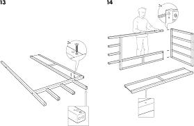 Download IKEA KURA REVERSIBLE BED 38X75